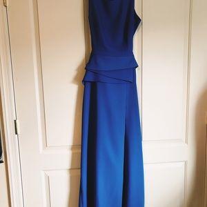 Royal blue BCBGMaxazria gown